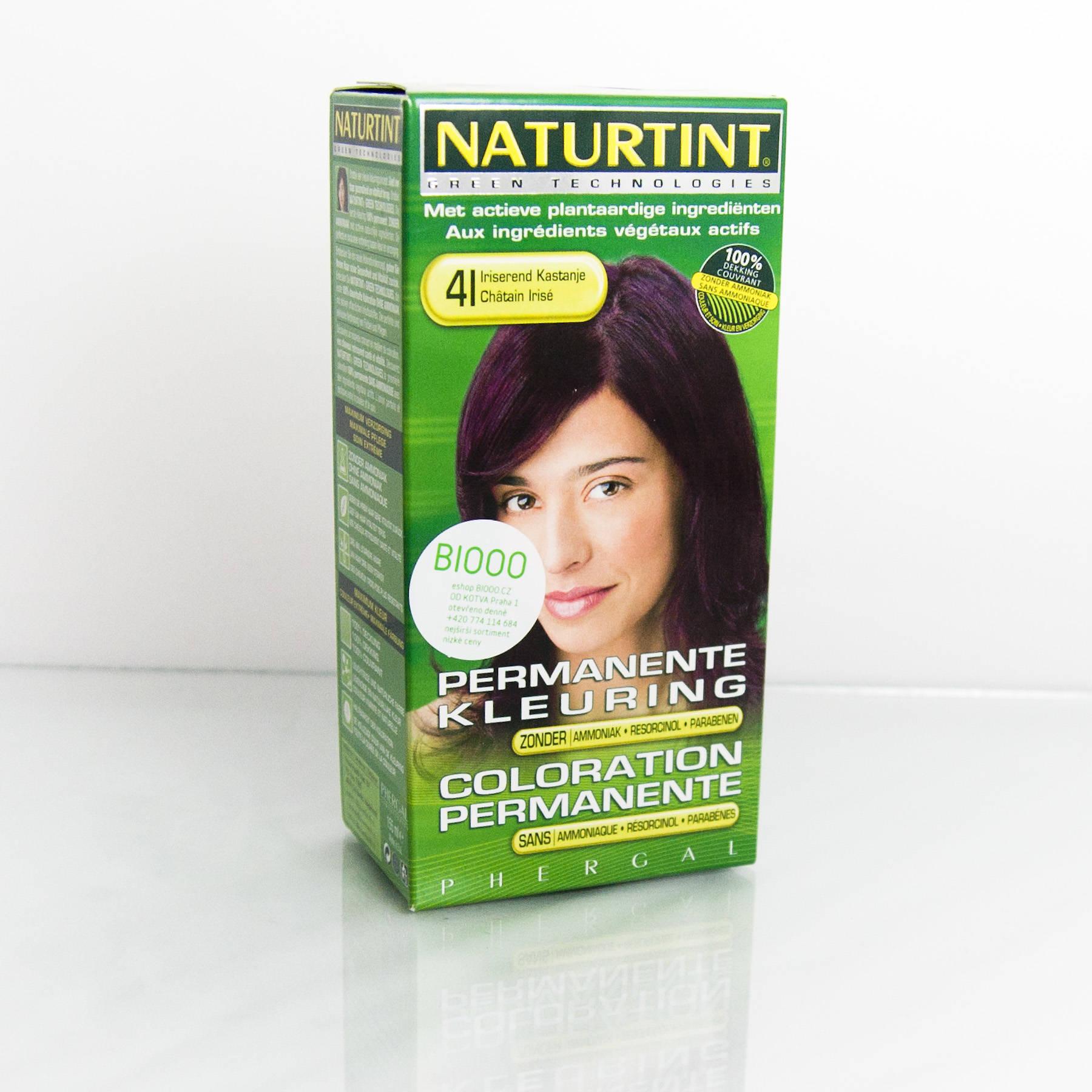 Naturtint Barva na vlasy 4I irisová kaštanová 165 ml