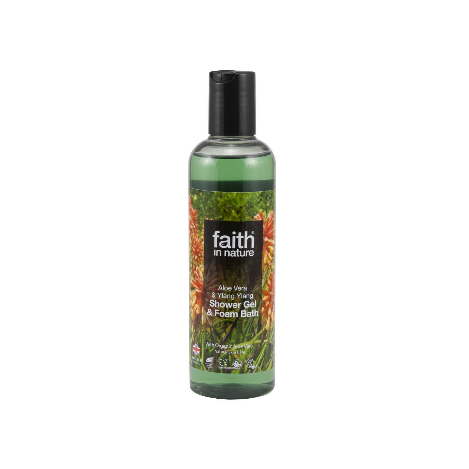 Faith in Nature Sprchový gel Aloe vera 250 ml