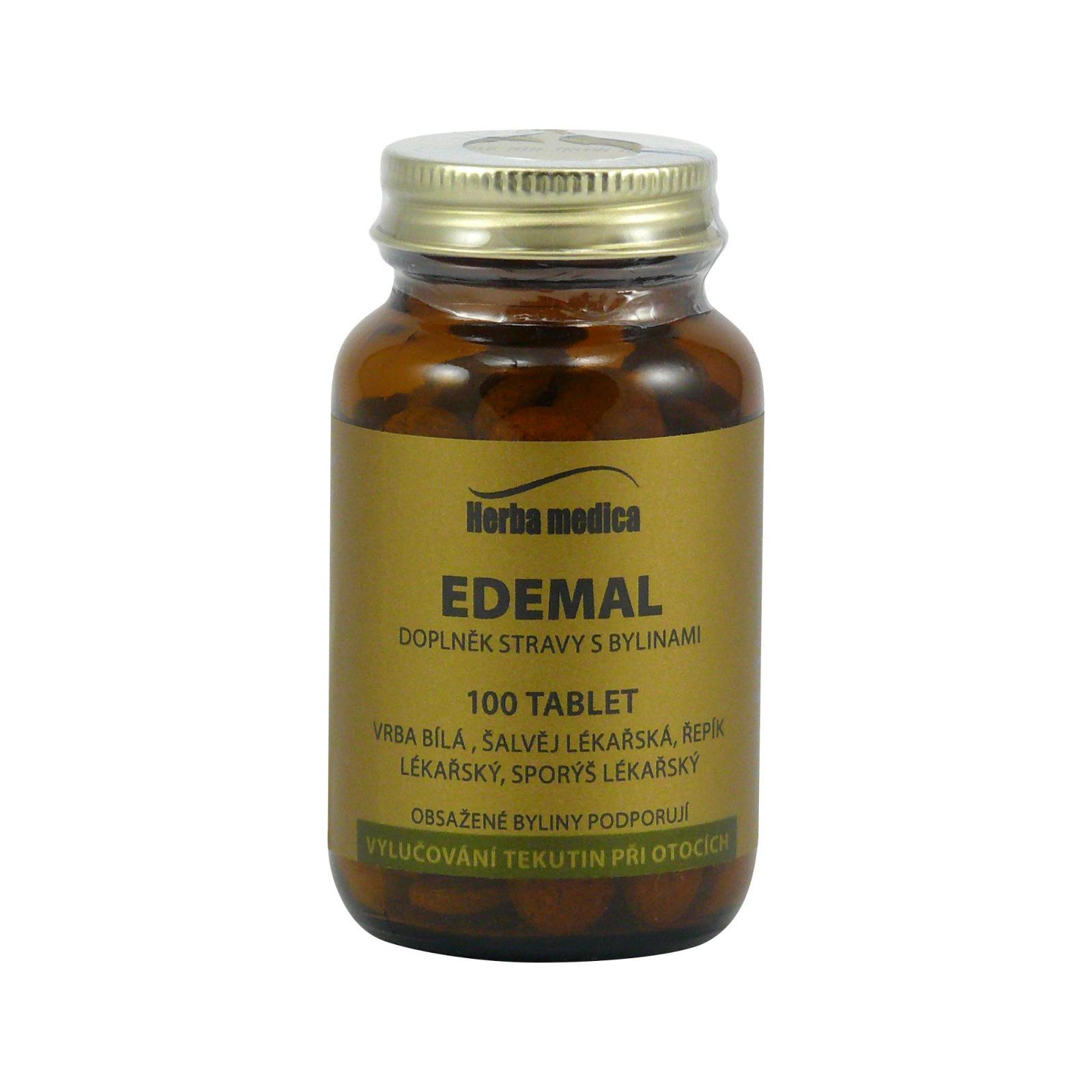 Herba Medica Edemal 50 g,100 ks (tablet)