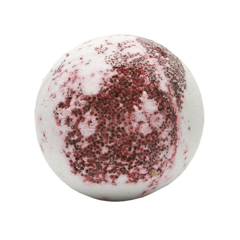 Ceano Cosmetics Krémová kulička do koupele červené hrozny 50 g, 1 ks