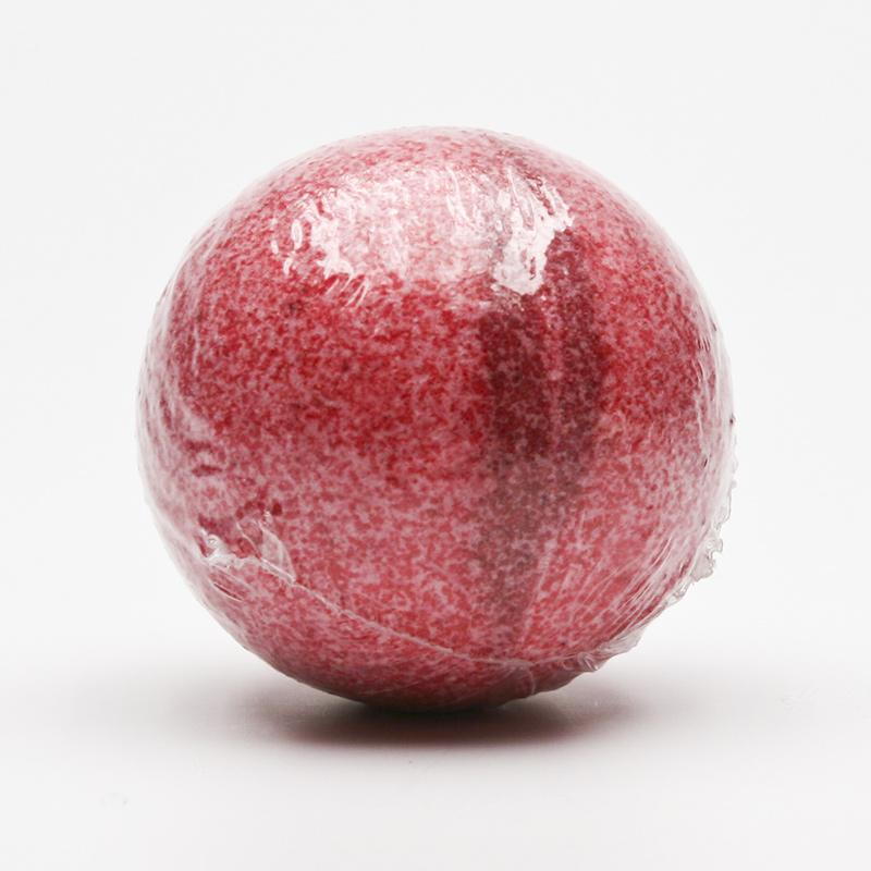 Ceano Cosmetics Šumivá koule do koupele malina 1 ks, 125 g