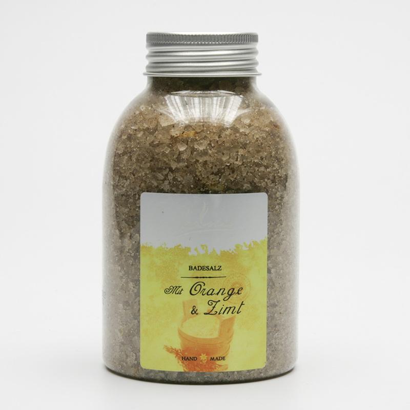 Kanu  ZRUŠENO Koupelová minerální sůl pomeranč a skořice 550 g