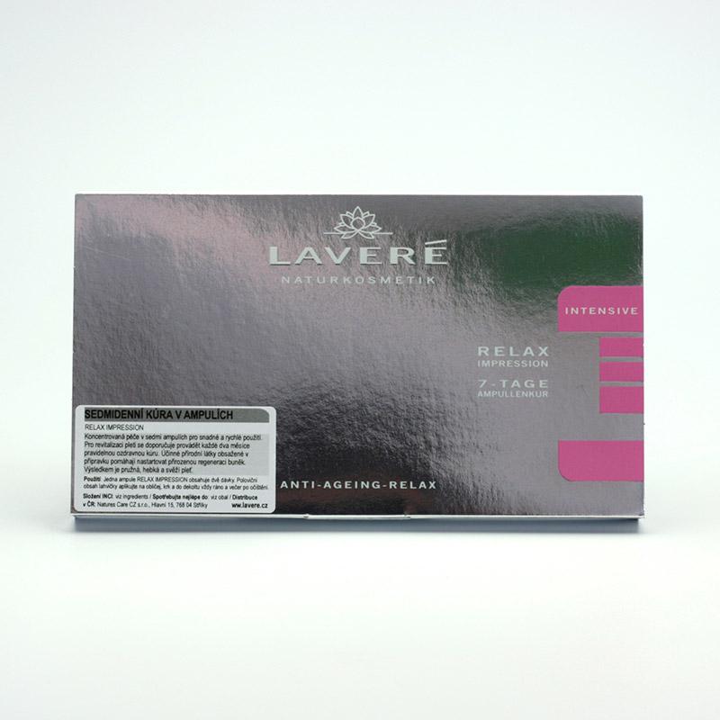 Laveré Výprodej Kúra v ampulích, Relax Impression, systém Intensive 7 ks, 14 ml