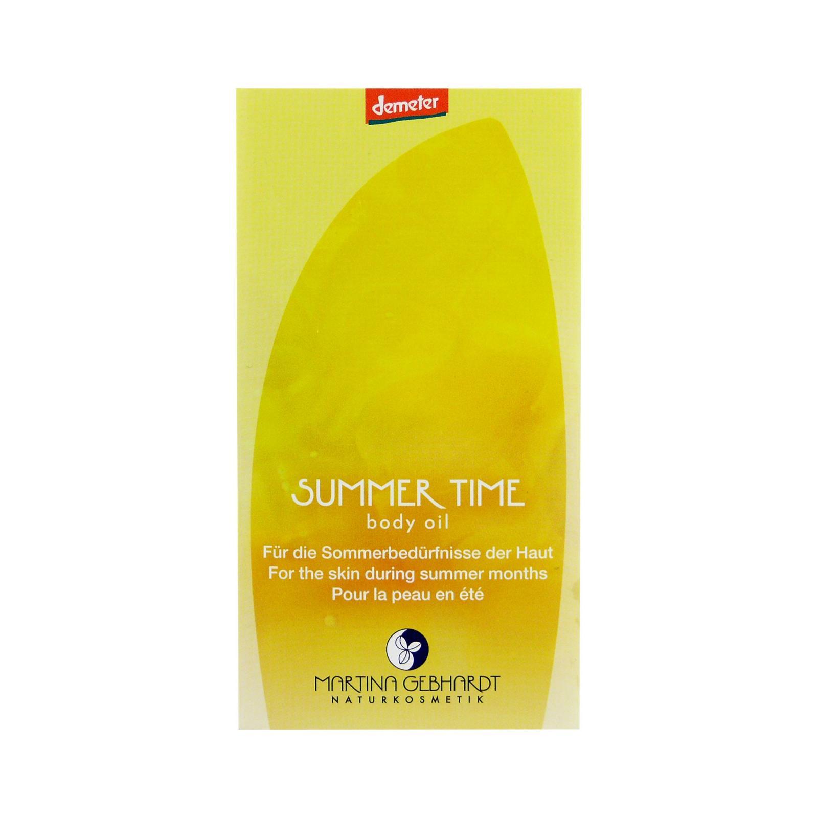 Martina Gebhardt Zklidňující regenerační tělový olej, Summer Time 5 ml