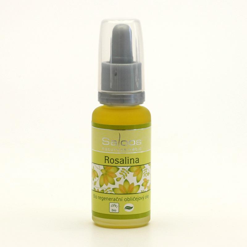 Saloos Regenerační obličejový olej rosalina 20 ml