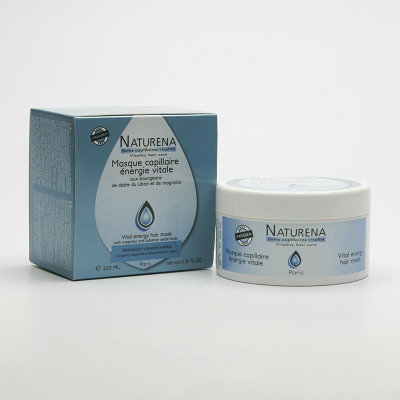 Henné Color Vitalizující vlasová maska, Naturena 200 ml
