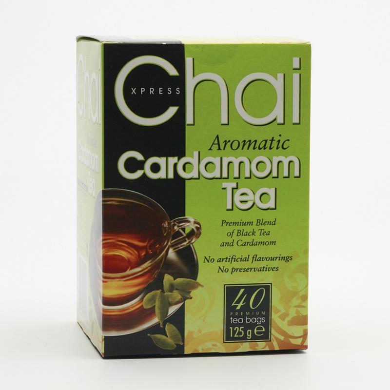 Fudco Černý čaj s kardamomem 125 g, 40 ks