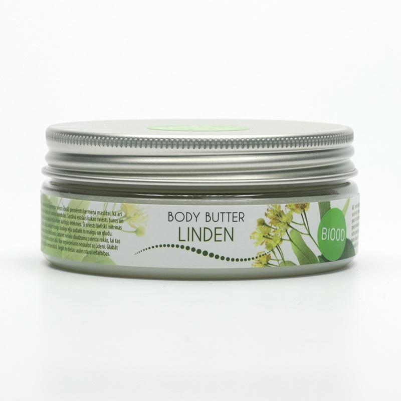 Ceano Cosmetics Tělové máslo lípa 125 g