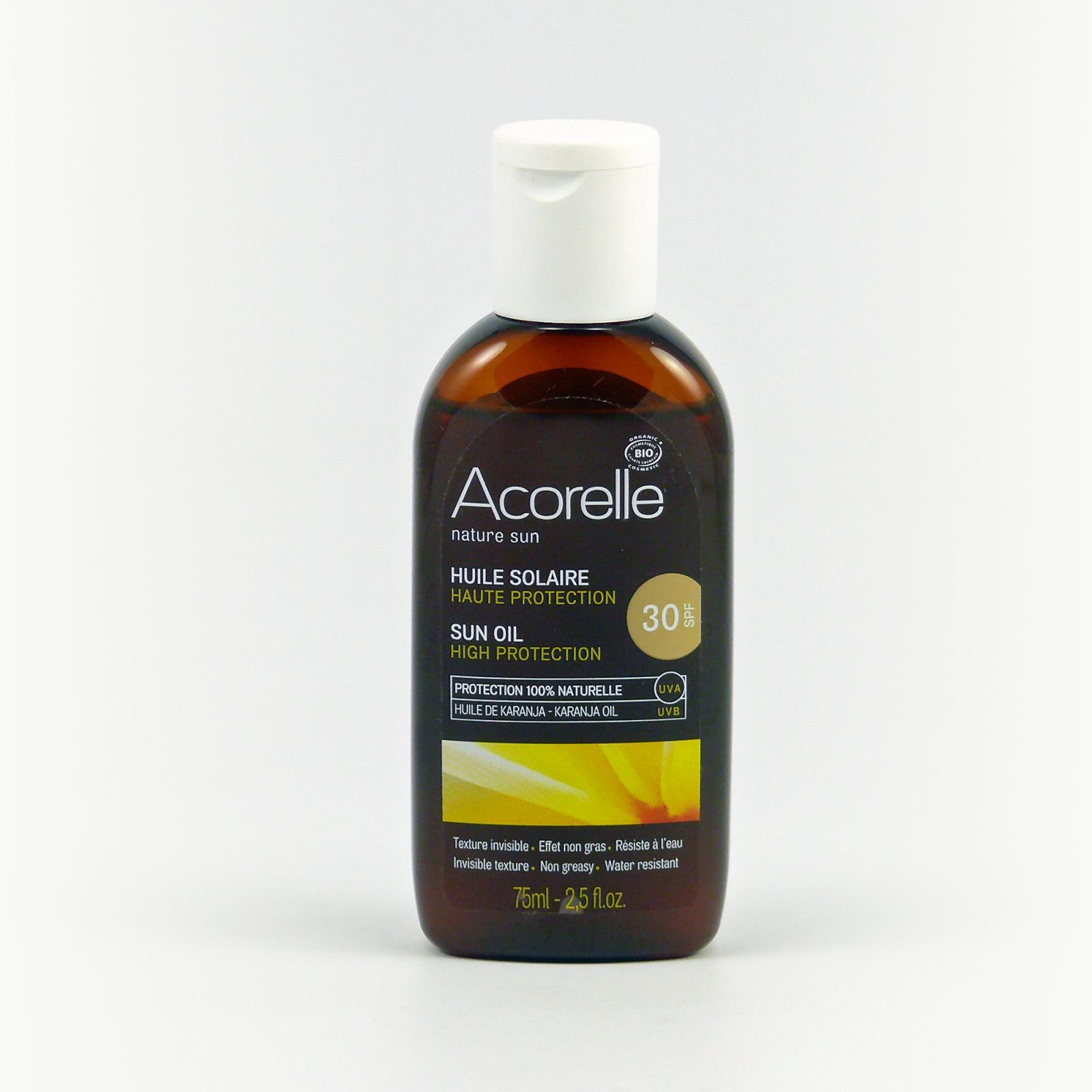 Acorelle Opalovací olej SPF 30 75 ml