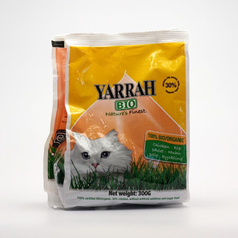 Yarrah Výprodej Granule pro kočky kuřecí 300 g