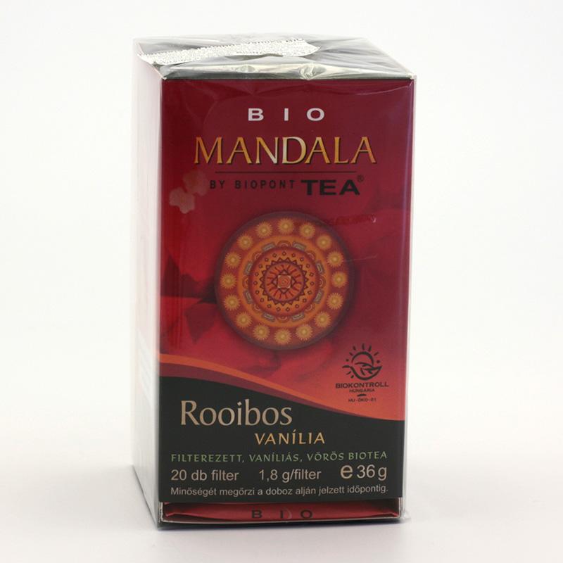 Biopont Čaj Mandala Rooibos Vanília 36 g