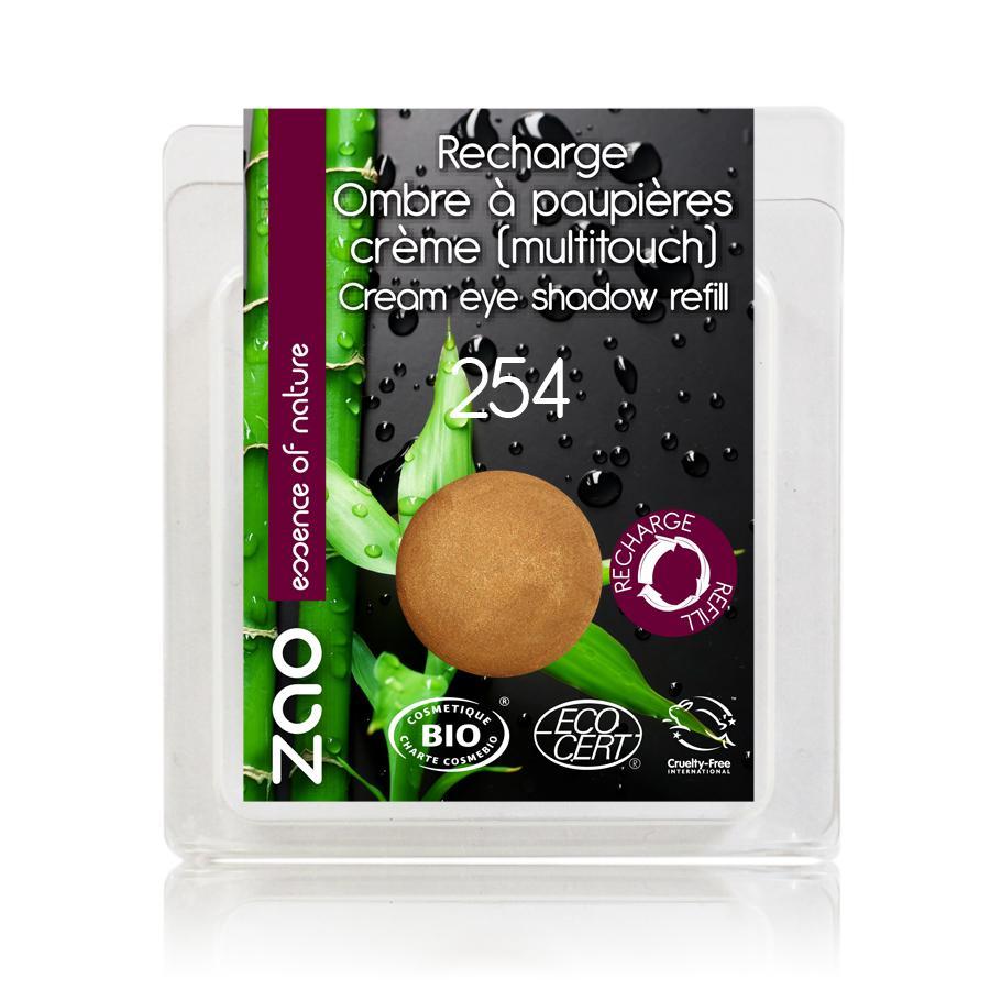 ZAO Krémové oční stíny 254 Golden Bronze 3 g náplň