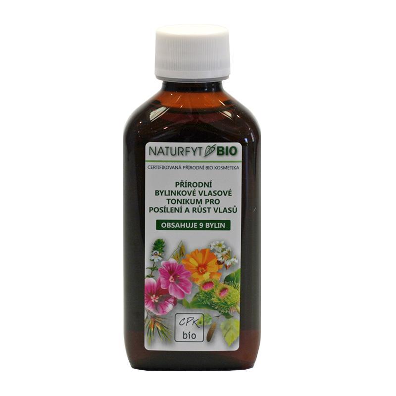 Naturfyt Tonikum vlasové bylinkové pro posílení a růst vlasů 200 ml