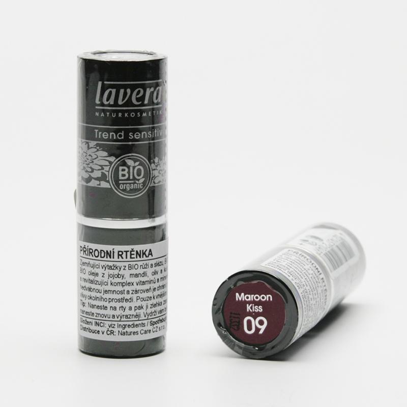 Lavera Rtěnka 09 červenohnědá, Trend Sensitive 4,5 g