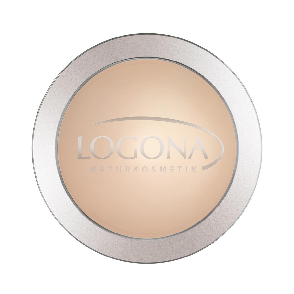 Logona Kompaktní pudr 01 světle béžový 10 g