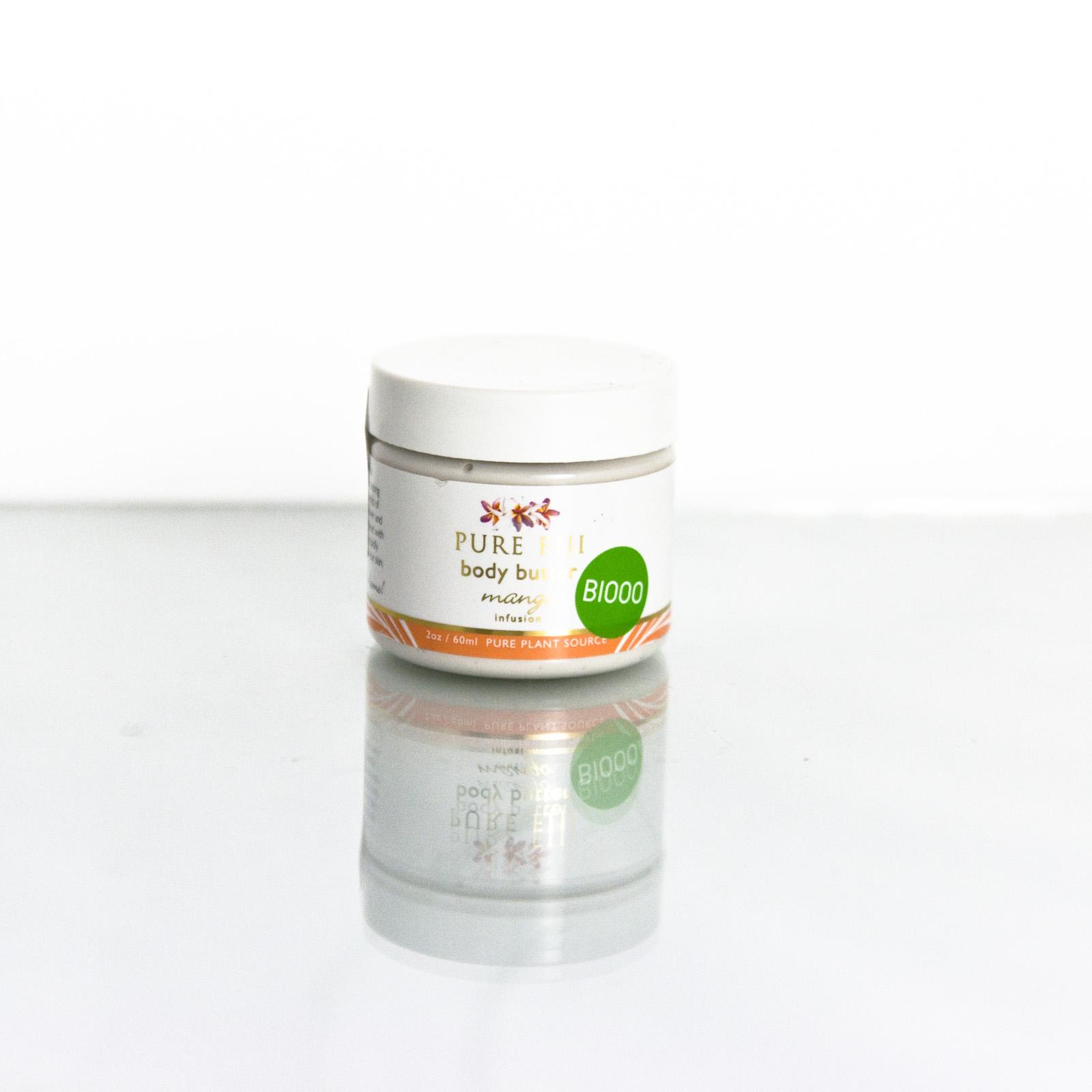 Pure Fiji Obličejové a tělové máslo, mango 60 ml