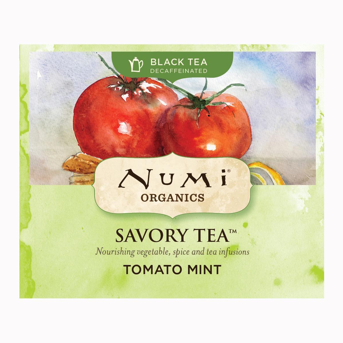 Numi Kořeněný čaj Tomato Mint, Savory Tea 1 ks, 4,4 g