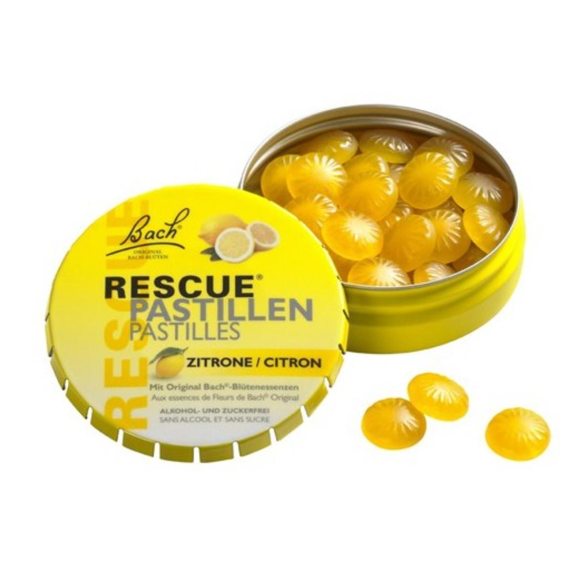 Dr. Bach Krizové pastilky citron 50 g