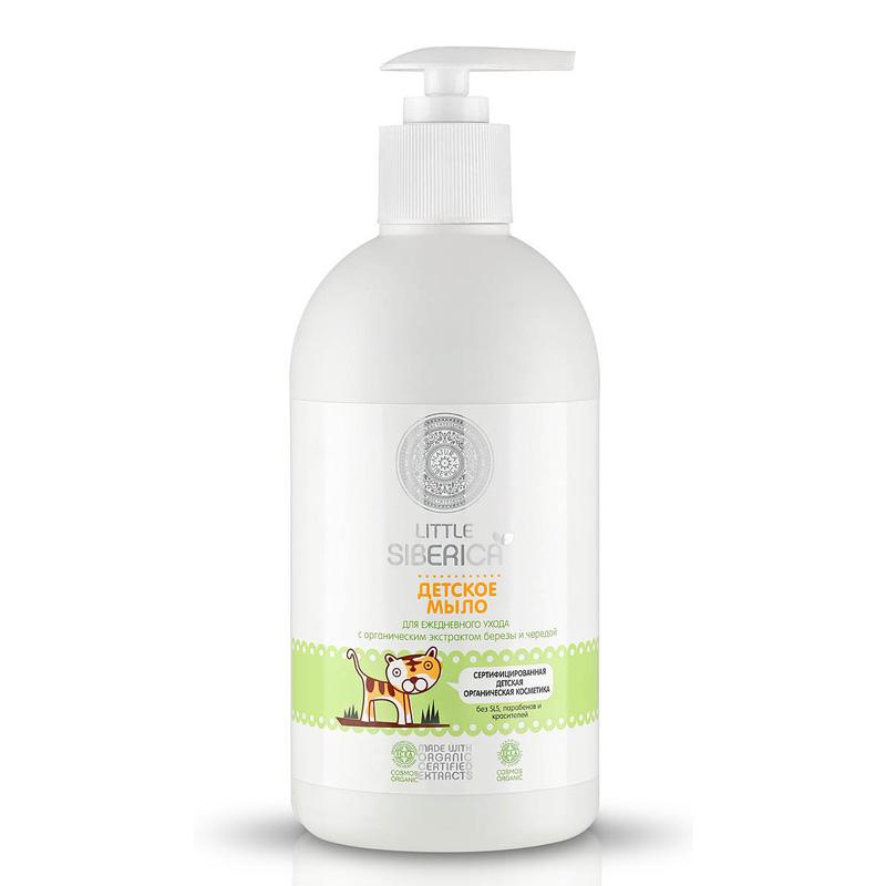 Little Siberica Dětské krémové mýdlo pro každodenní péči 500 ml