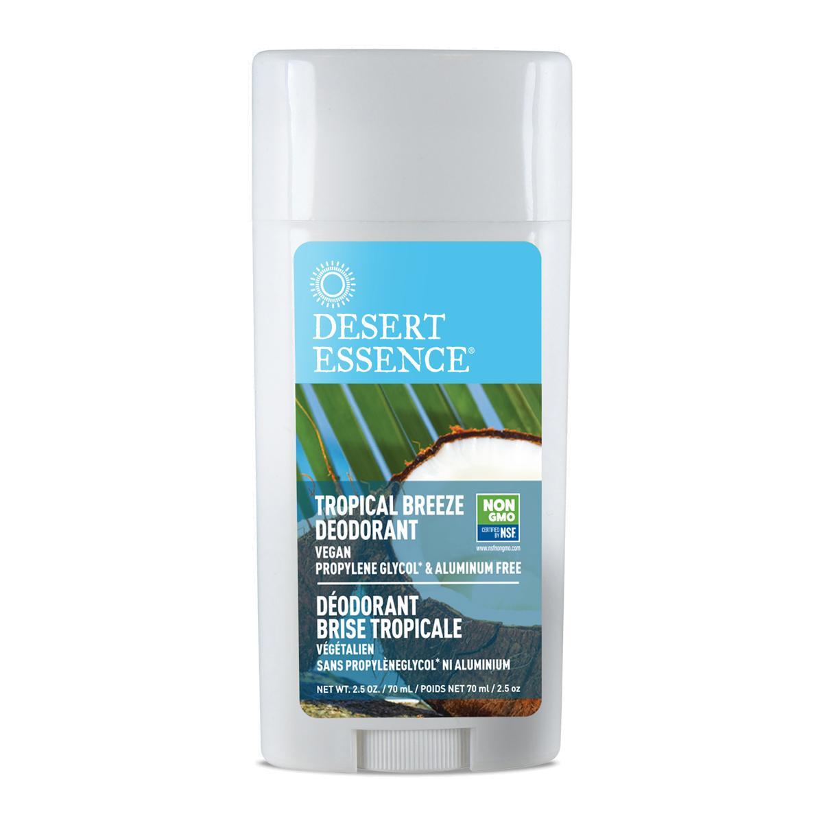 Desert Essence Tuhý deodorant tropický vánek 70 ml