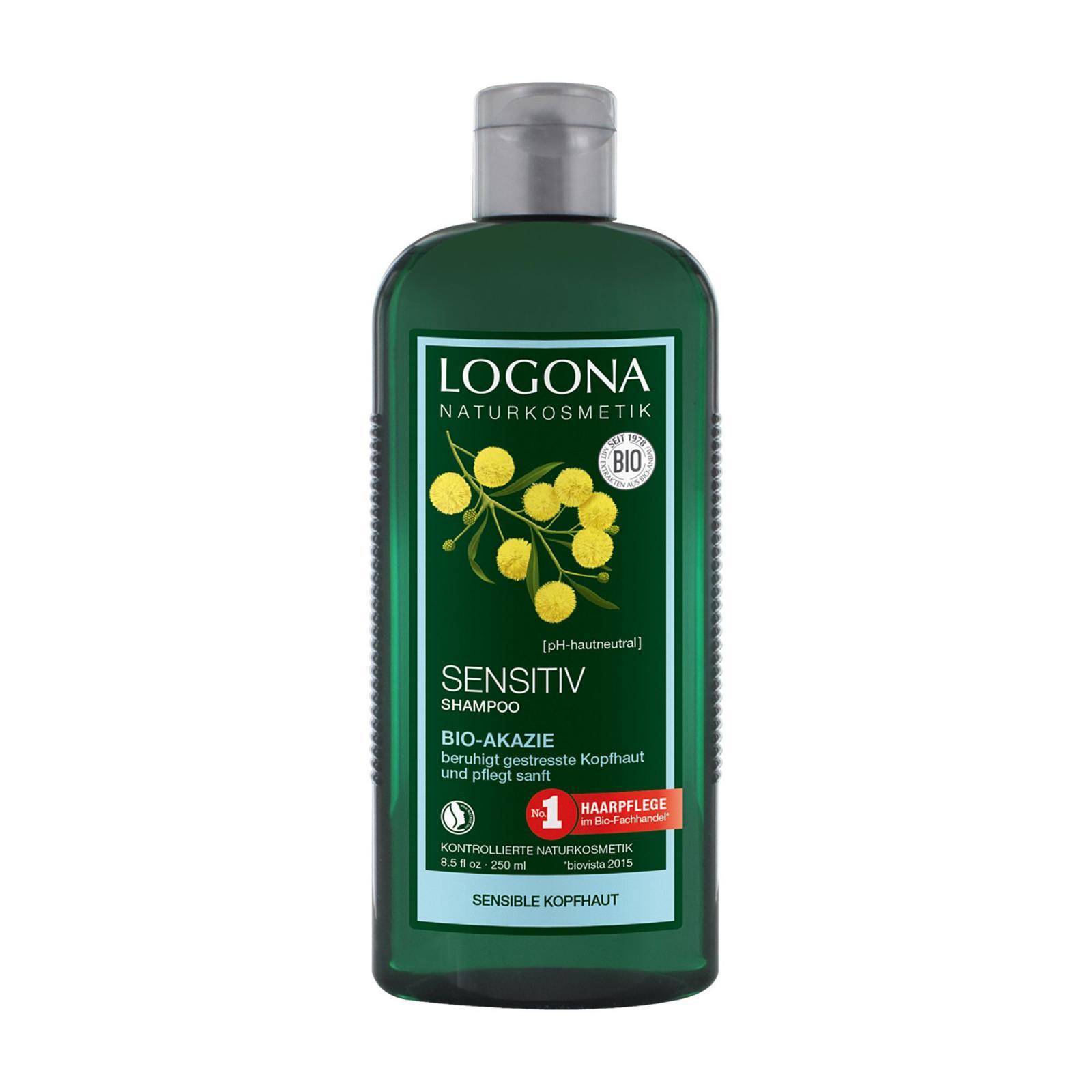 Logona Šampon pro citlivou pokožku bio akácie 250 ml