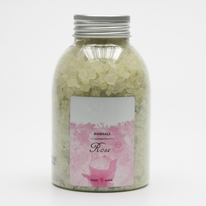 Kanu  ZRUŠENO Koupelová minerální sůl růže 550 g