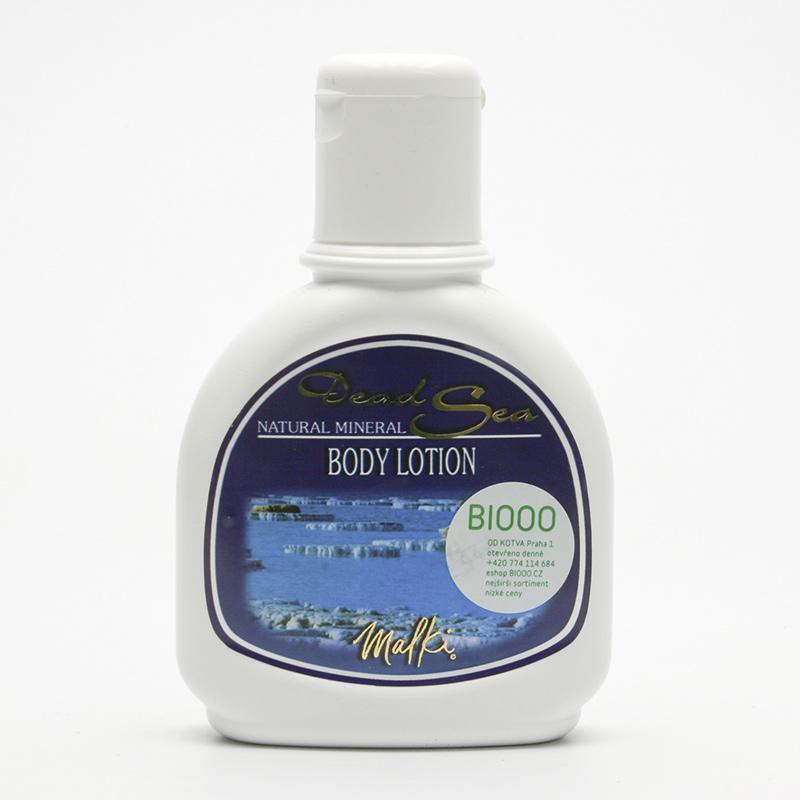 Malki Tělové mléko minerální s máslem karité 250 ml