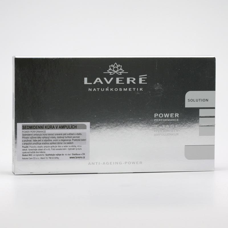 Laveré Výprodej Kúra v ampulích, Power Performance, systém Solution 7 ks, 14 ml