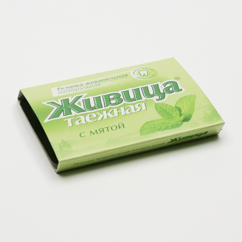 TML Sibiřská žvýkací pryskyřice s mátou 4 g, 5 ks (tablet)