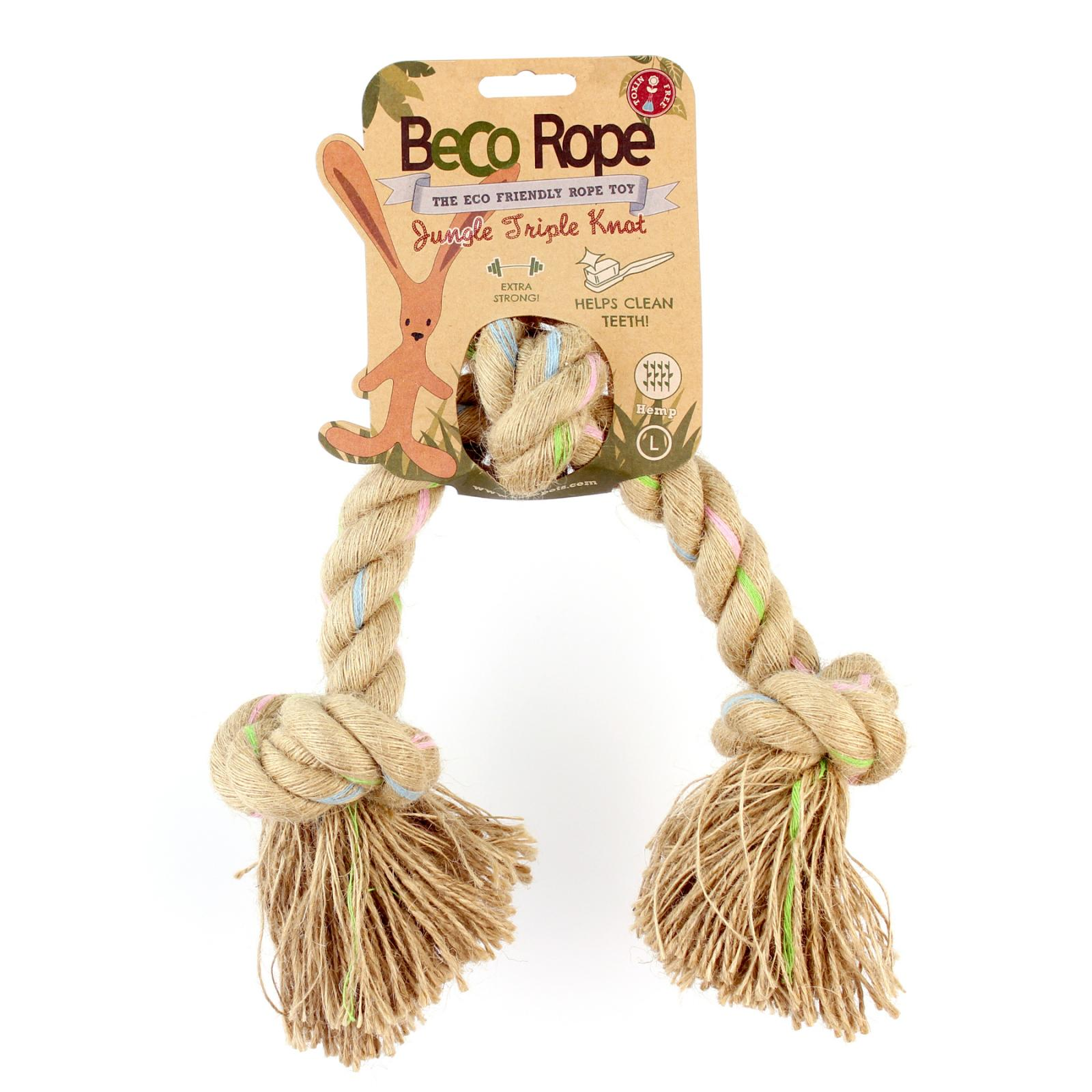 Beco Pets Beco Rope Jungle Triple Knot Large 1 ks