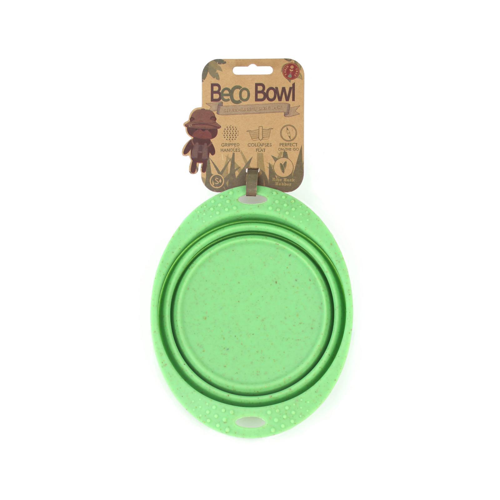 Beco Pets Beco Travel Bowl Small 1 ks, zelená