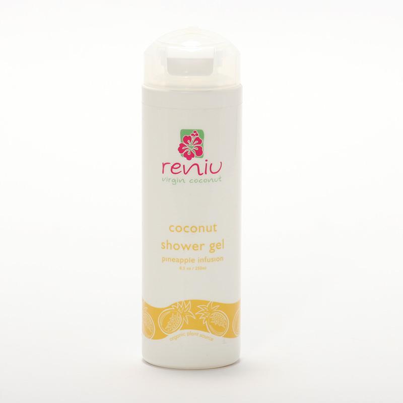 Reniu Fiji Sprchový gel z kokosového mléka, ananas 250 ml