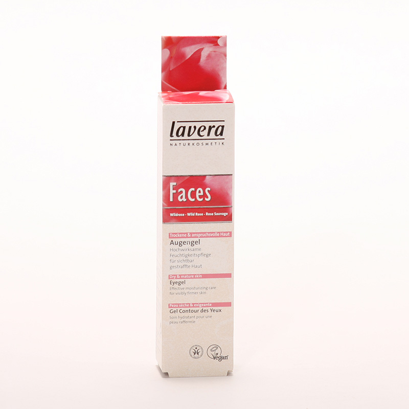 Lavera xxOční gel divoká růže, Faces 15 ml
