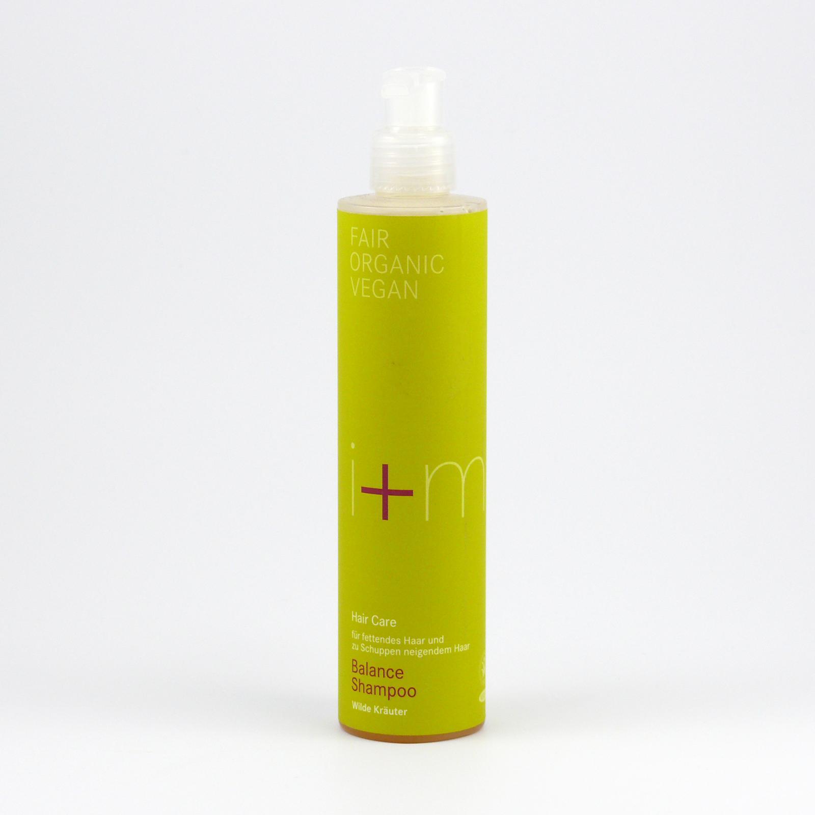 I+M Naturkosmetik Šampon Rovnováha divokých bylin 250 ml