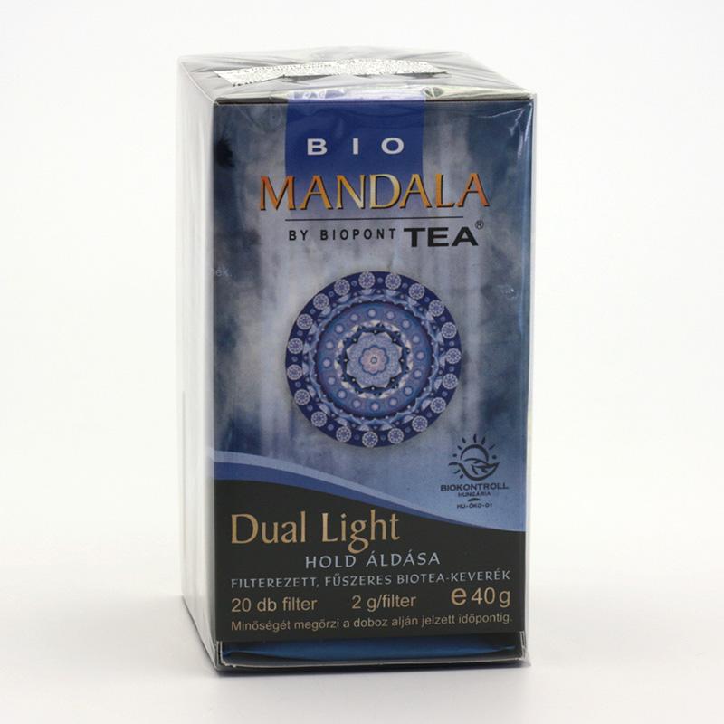 Biopont Čaj Mandala Dual Light, dvojité světlo 40 g