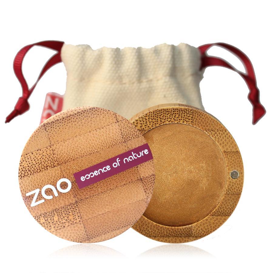 ZAO Krémové oční stíny 254 Golden Bronze 3 g bambusový obal