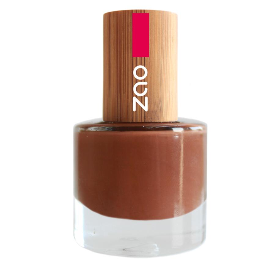 ZAO Lak na nehty 646 Hazel Brown 8 ml