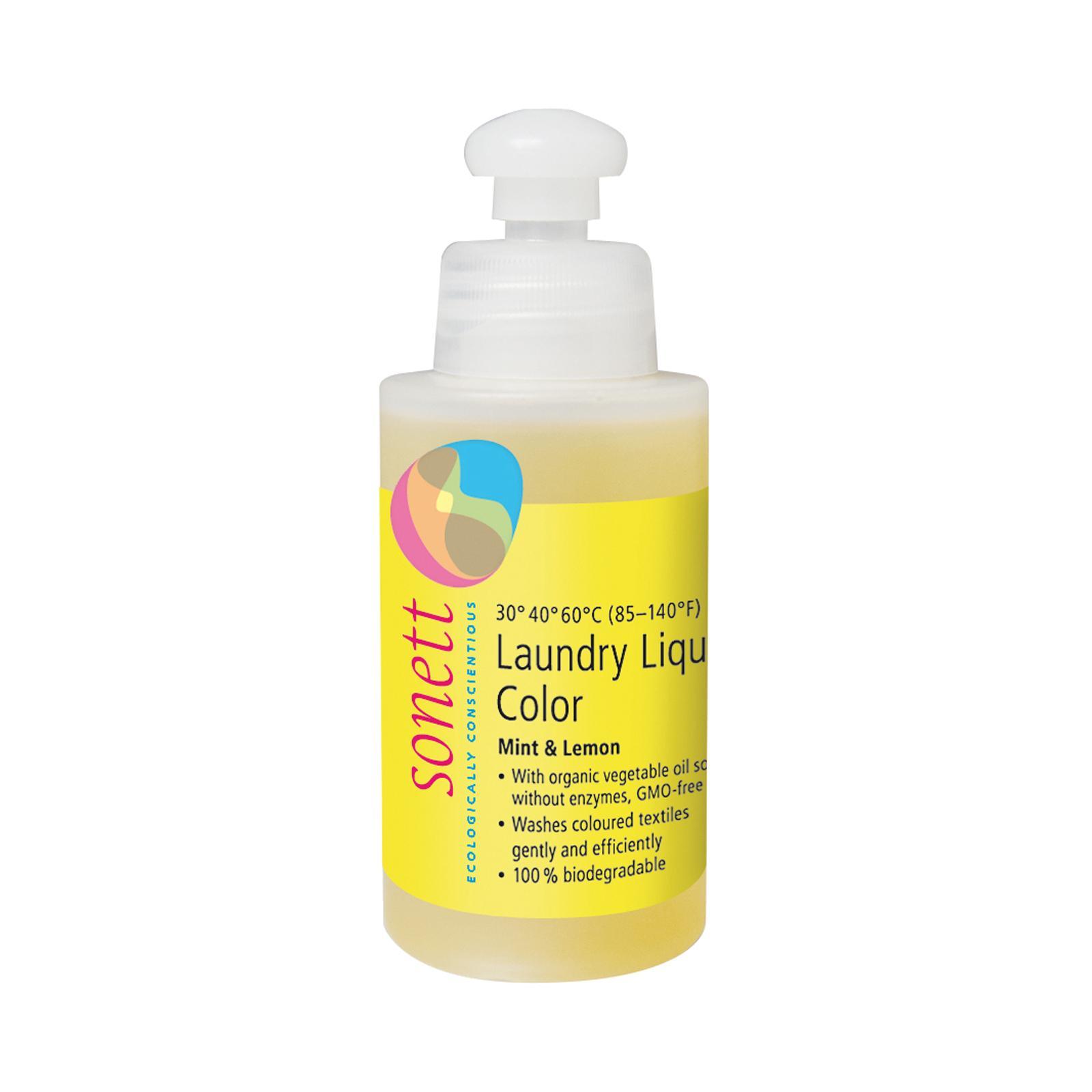 Sonett Tekutý prací gel na barevné prádlo Color 120 ml