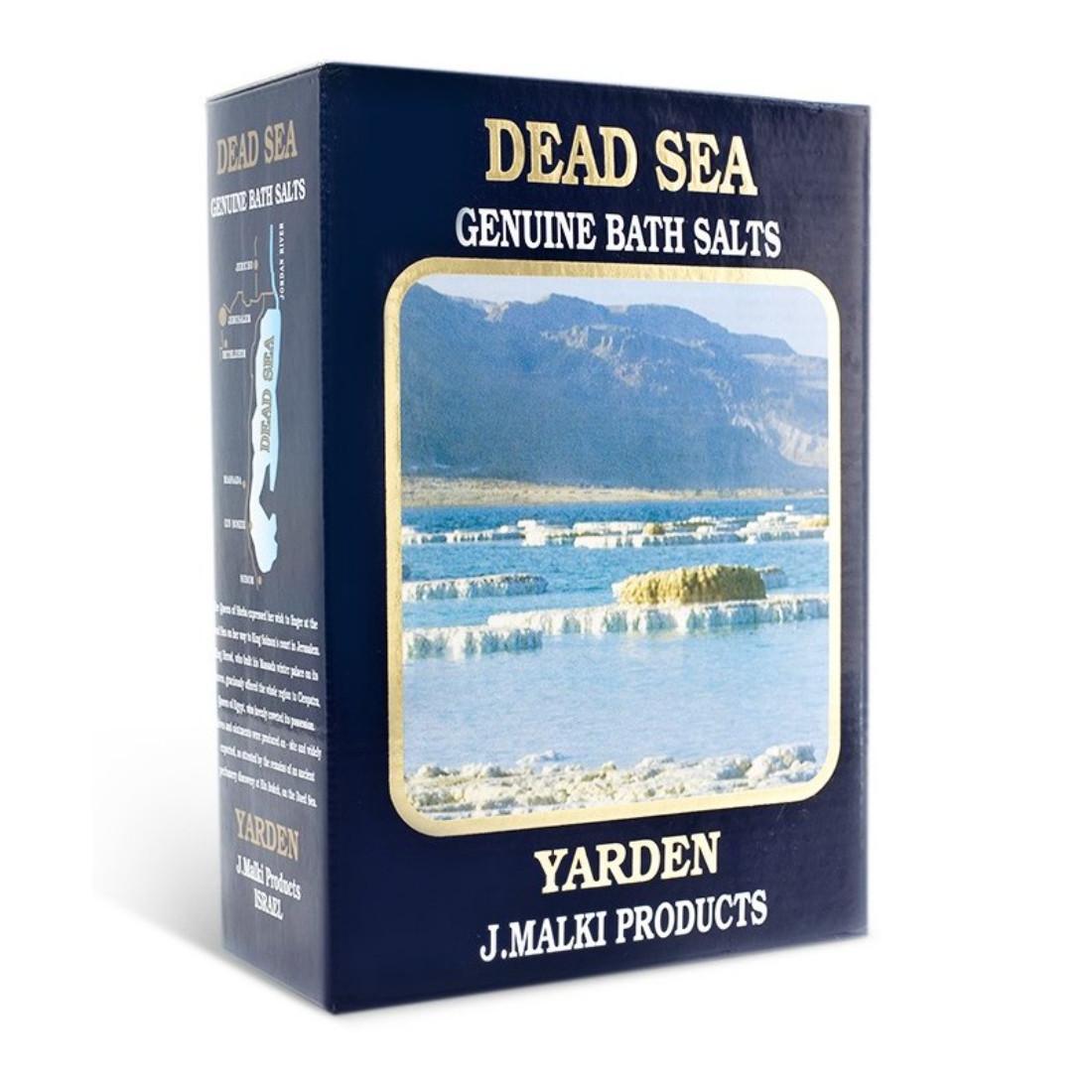Malki Koupelová sůl z Mrtvého moře 1 kg