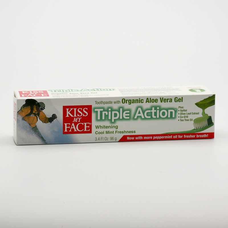 Kiss My Face Corp. Zubní pasta Triple Action 127,6 g