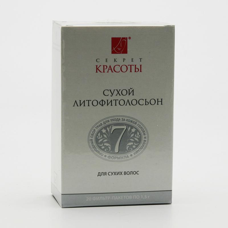 Hloubková hygiena kůže Litofyto-tonik 7, na suché vlasy