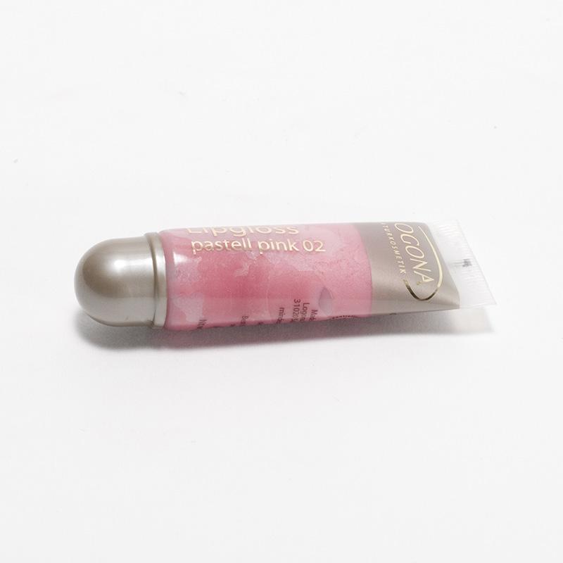 Logona Výprodej Lesk na rty 02, Pastell Pink 10 ml