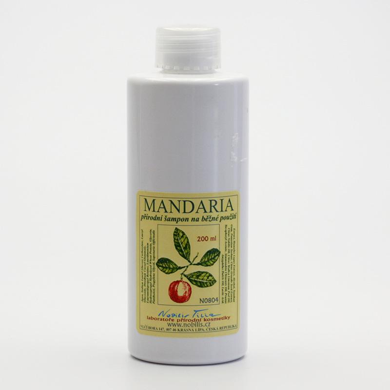 Nobilis Tilia Šampon prevence lupů, Mandaria 200 ml
