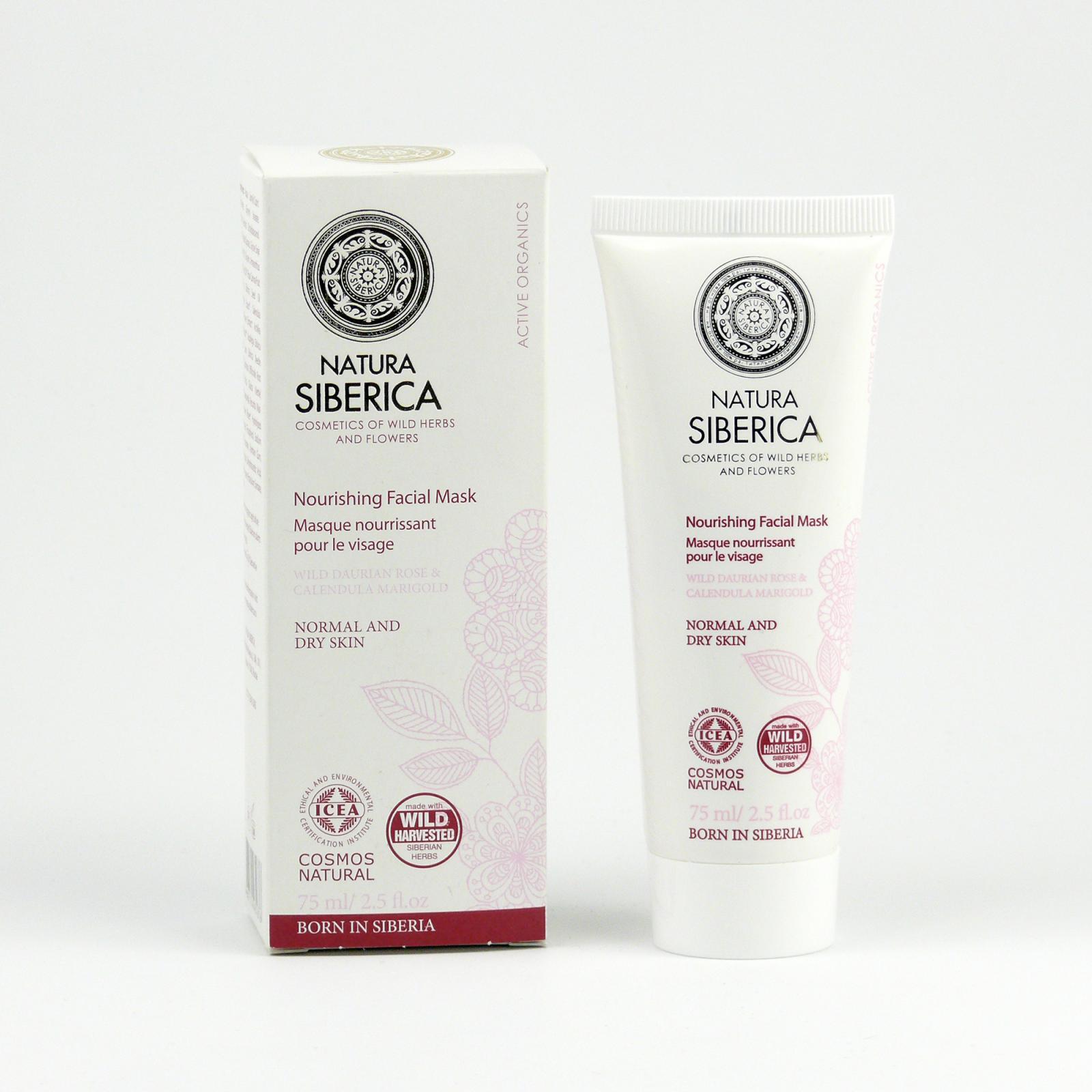 Natura Siberica Aktivní maska na obličej 75 ml