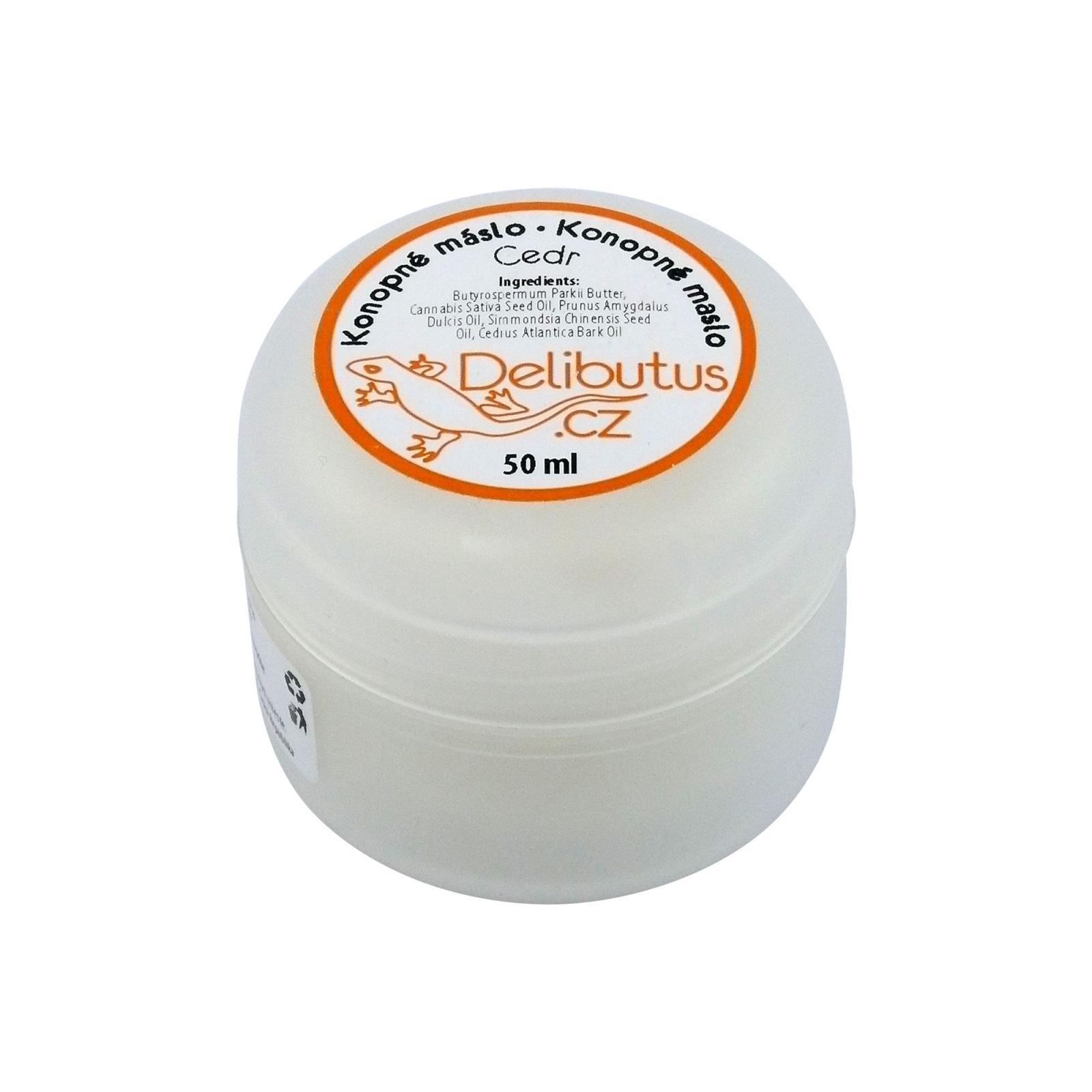Delibutus Konopné máslo Cedr 50 ml