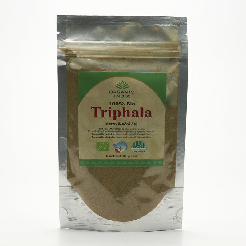 Organic India Triphala, detoxikační čaj 100 g