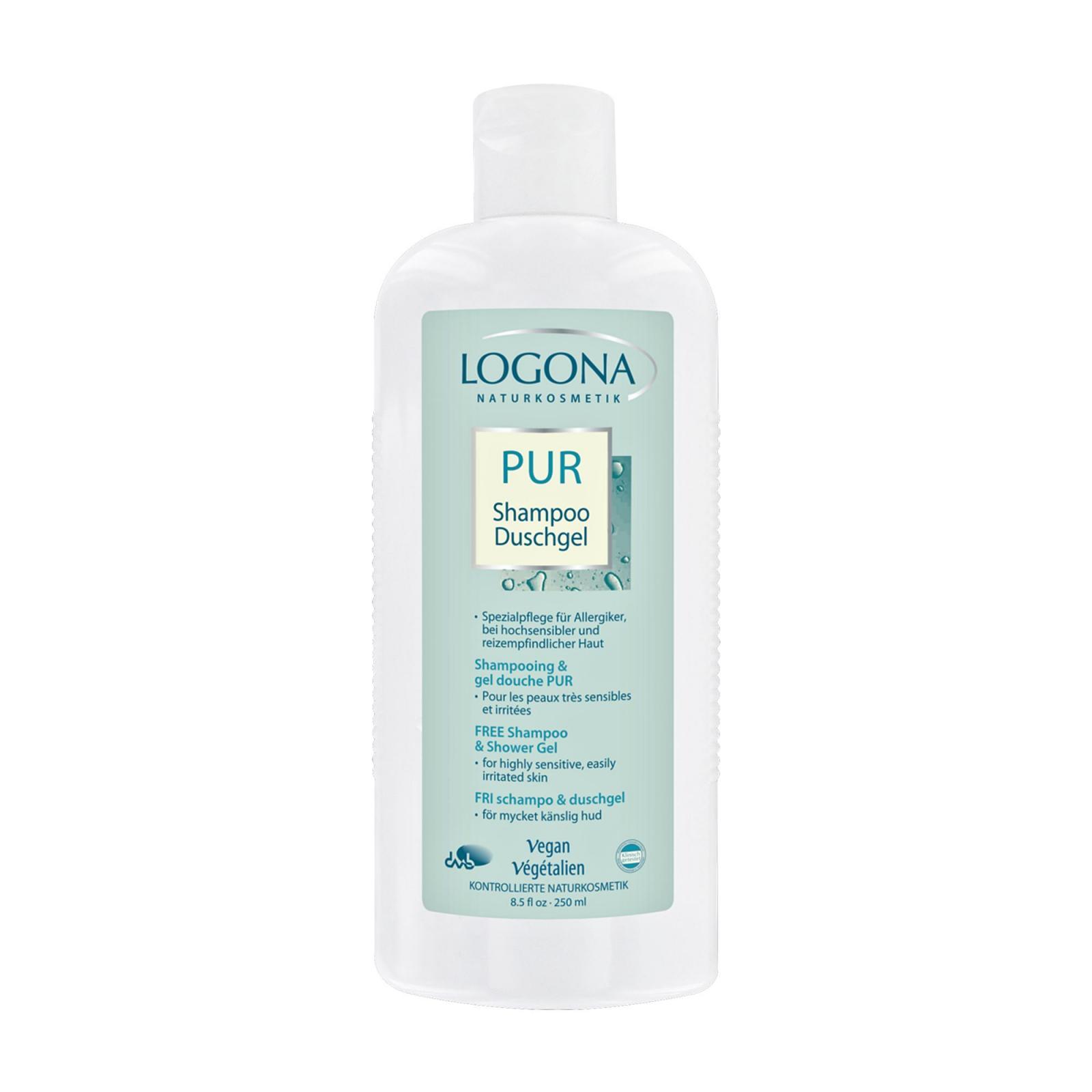 Logona Sprchový gel a šampon, PUR 250 ml