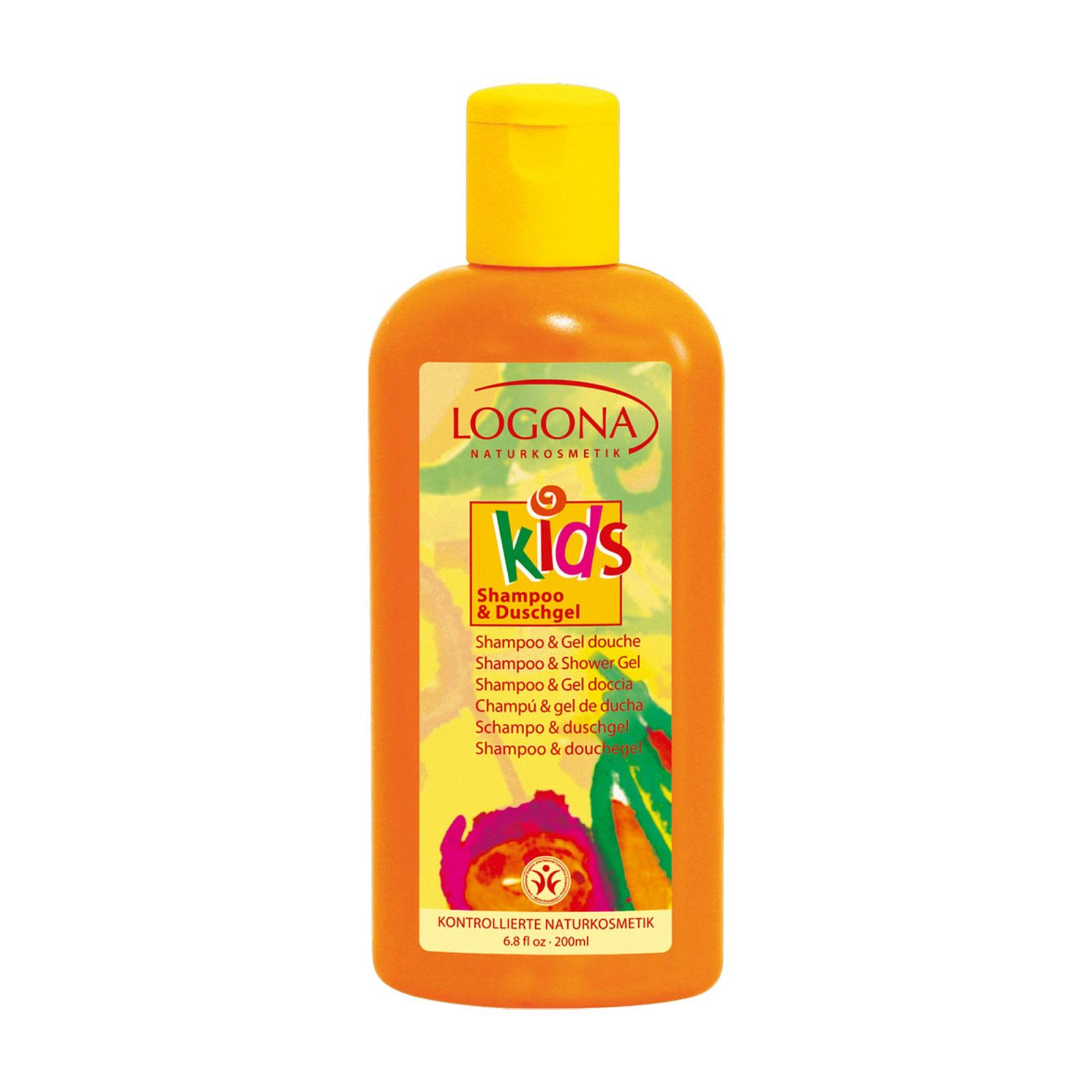 Logona Sprchový gel a šampon, Kids 200 ml