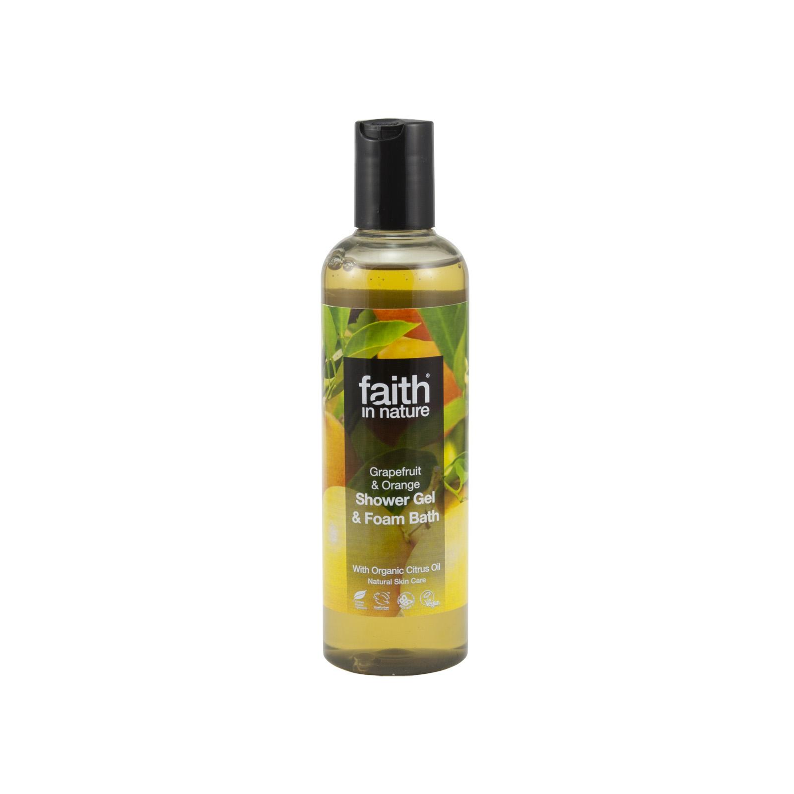Faith in Nature Sprchový gel grapefruit & pomeranč 250 ml