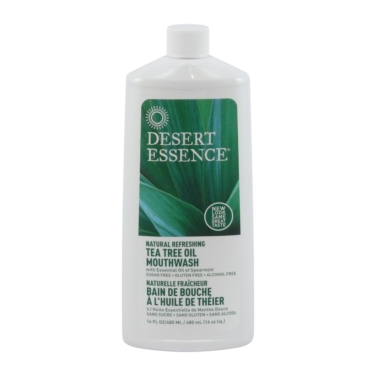 Desert Essence Ústní voda tea tree a máta 480 ml